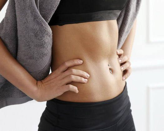 How To Get A Flatter Stomach Naturally