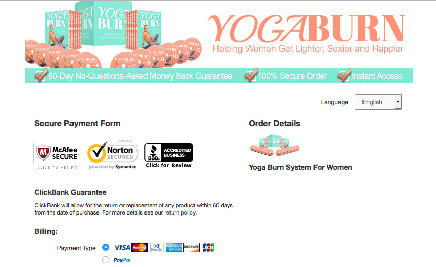 Her Yoga Secret Website